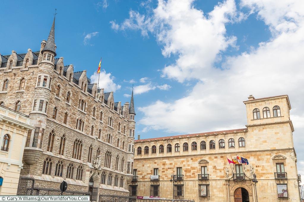 The Palacio de los Guzmanes, León, Spain