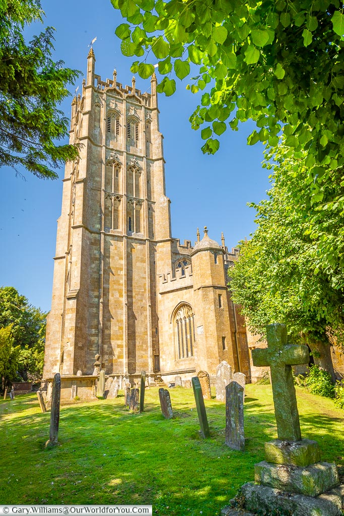 The village church, Chipping Campden, Gloucestershire, England, UK