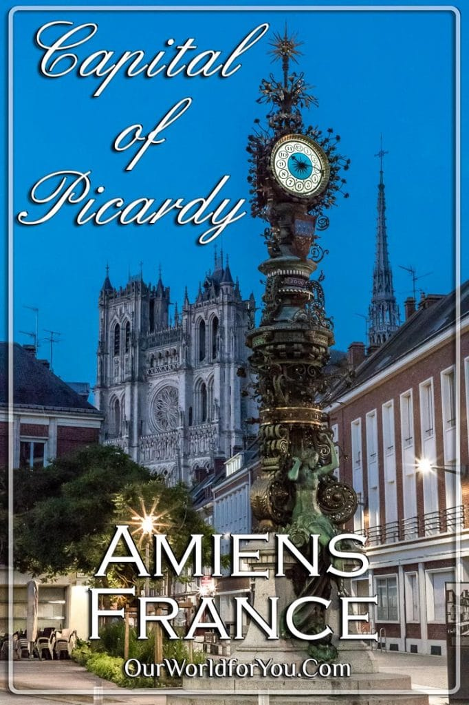 Amiens, Capital of Picardy, France