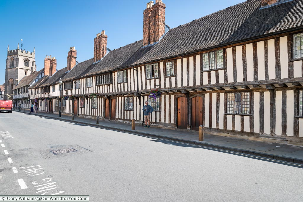 Guildhall, Shakespeare's Schoolroom & Almshouses, Stratford-upon-Avon, Warwickshire, England, UK