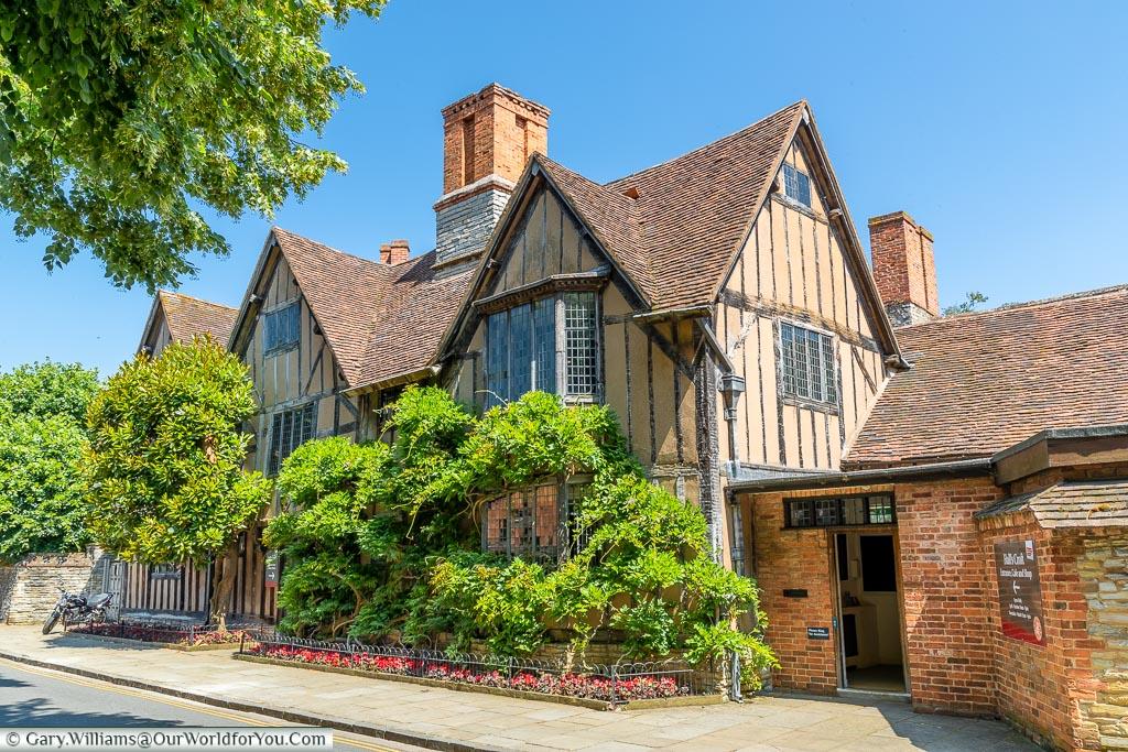 Halls Croft, Stratford-upon-Avon, Warwickshire, England, UK
