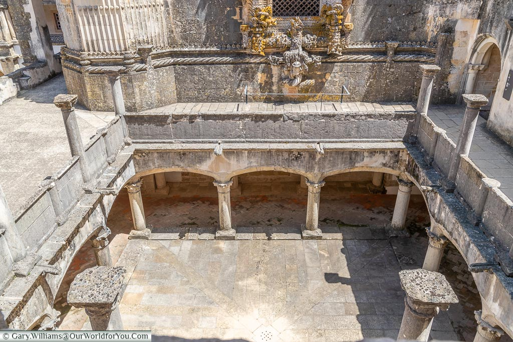 Saint Barbara's Cloister, Tomar, Portugal