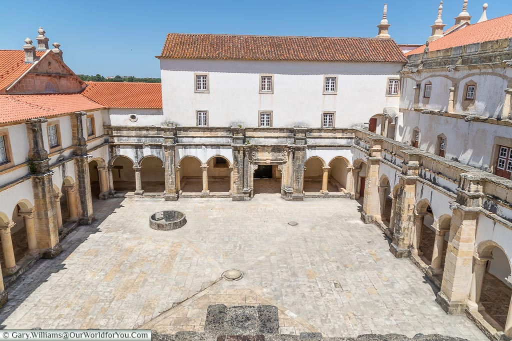 The Bread Cloister, Tomar, Portugal