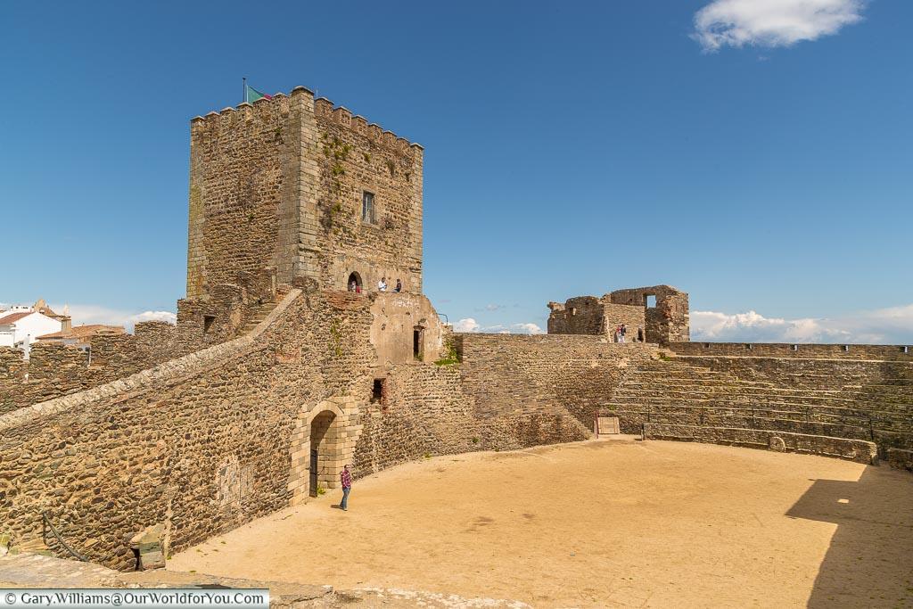 The Castle Courtyard, Monsaraz, Portugal