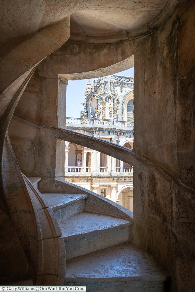 The Stairway, Tomar, Portugal