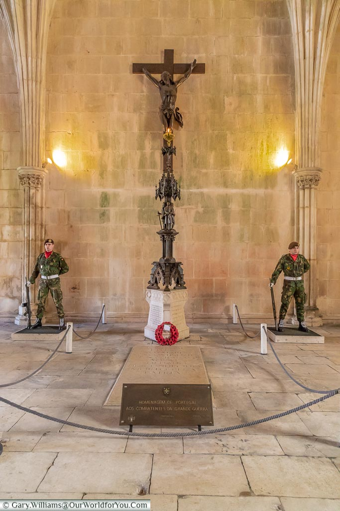 The Tomb of the Unknown Soldier, Monastery of Batalha, Portugal