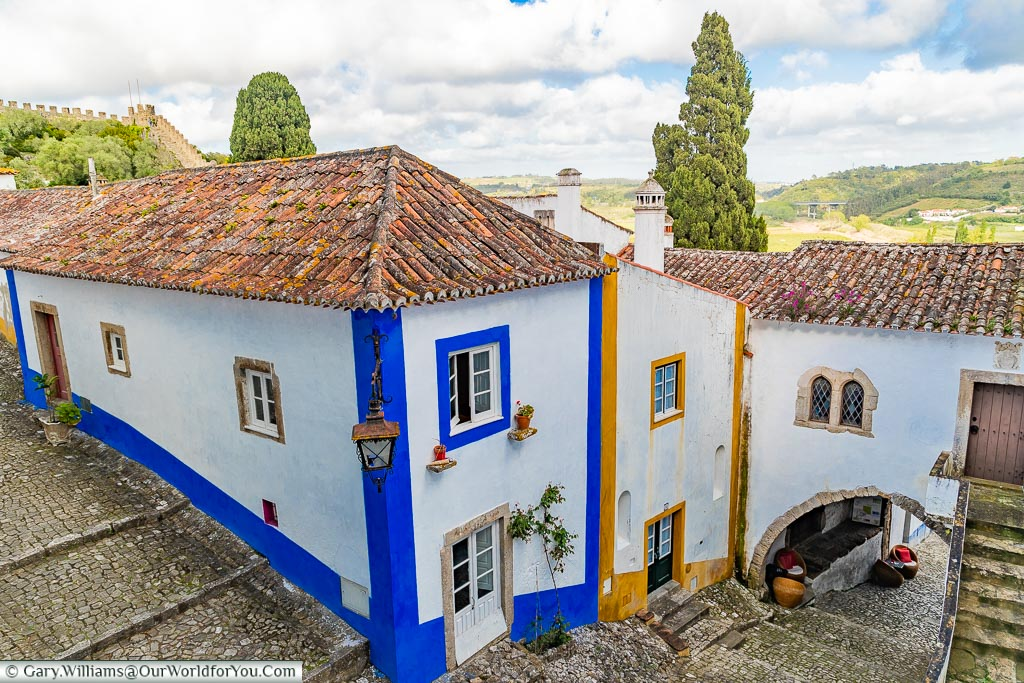 The Traditional streets, Óbidos, Portugal