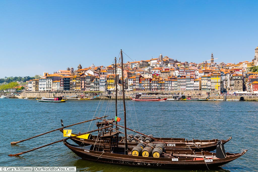 Sandeman Rabelo on the Douro, Porto, Portugal