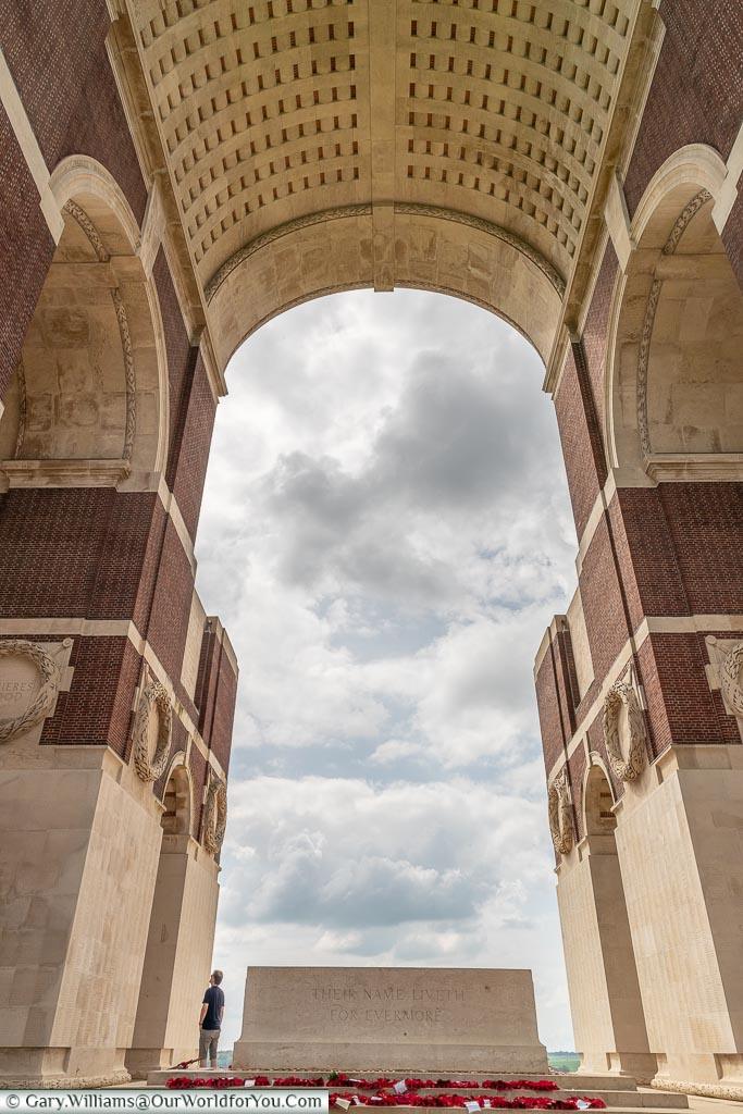 So many names, Thiepval, France
