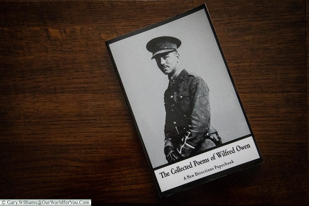 The Collected Poems of Wilfred Owen.