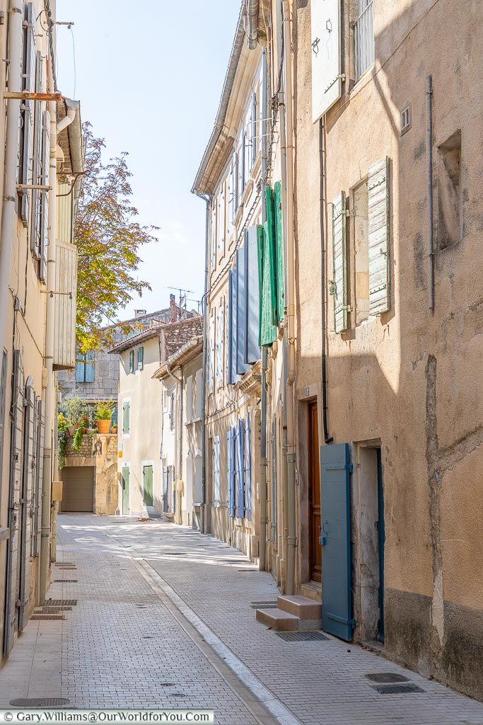Where is everybody, St Remy-de-Provence, France