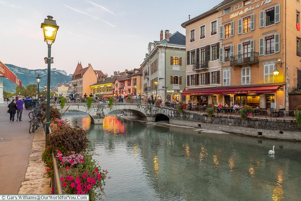 A stroll by River Thiou, Annecy, France