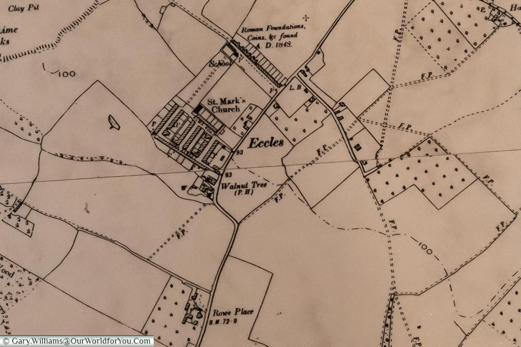 Eccles Historic Map