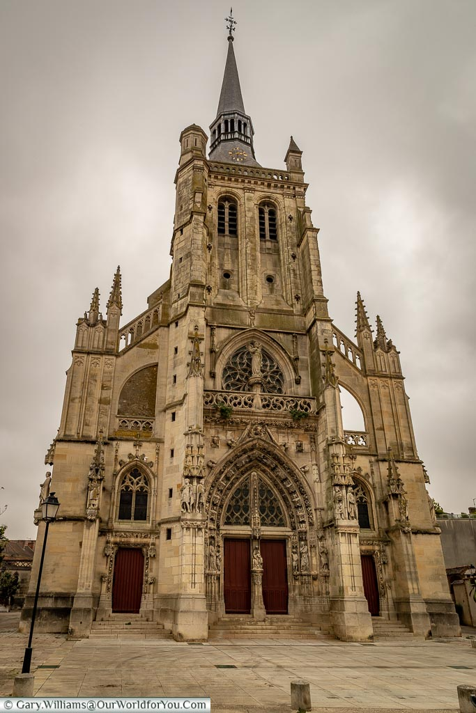 Saint-Bryce Church, Ay, Champagne Region, France