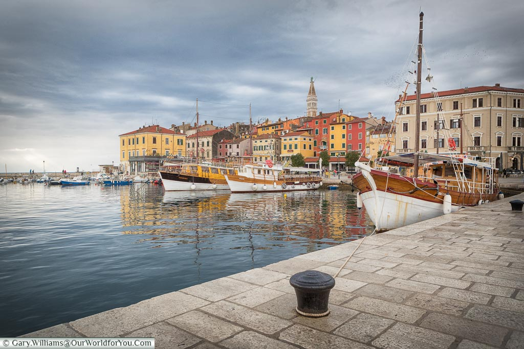 The quayside, Rovinj, Croatia
