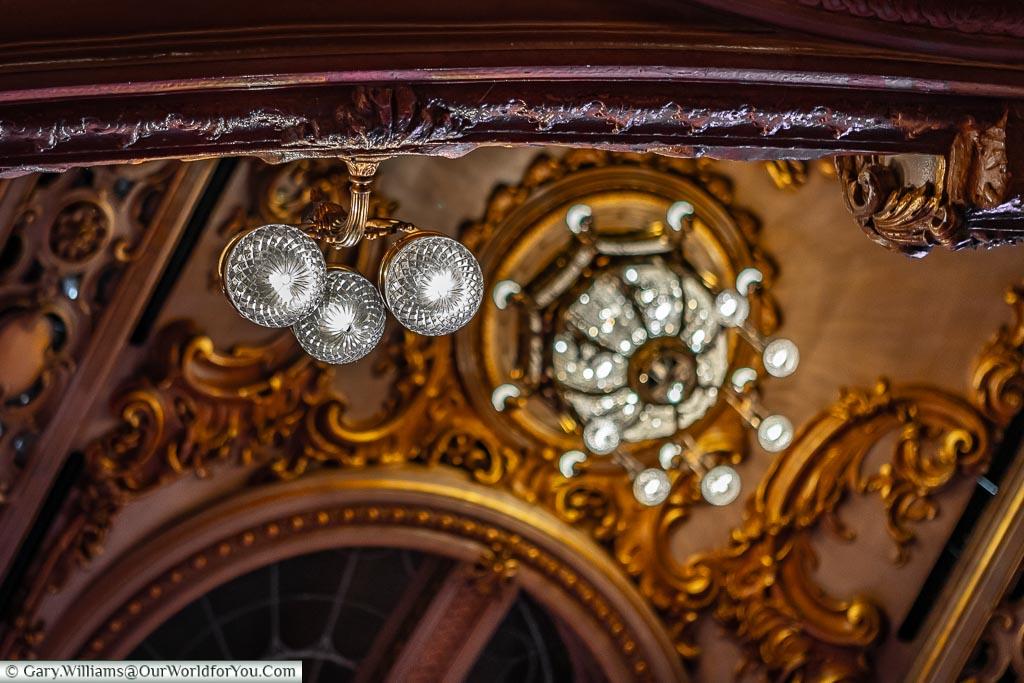 All sparkles, Tower Ballroom, Blackpool, Lancashire, England, UK