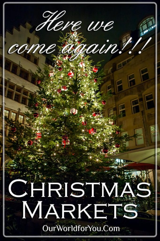 Christmas Markets, here we come again!