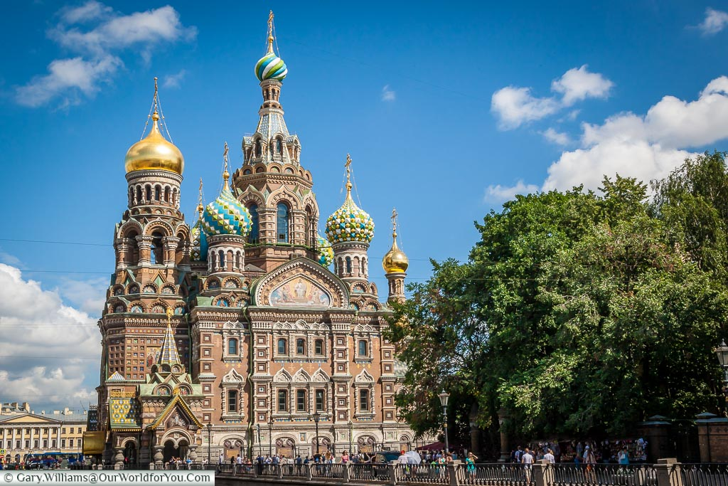 Church of the Savior on Spilled Blood - St Petersburg - Russia