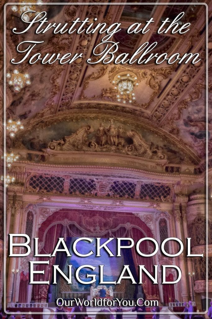 Strutting at the Tower Ballroom, Blackpool, Lancashire, England, UK - R2