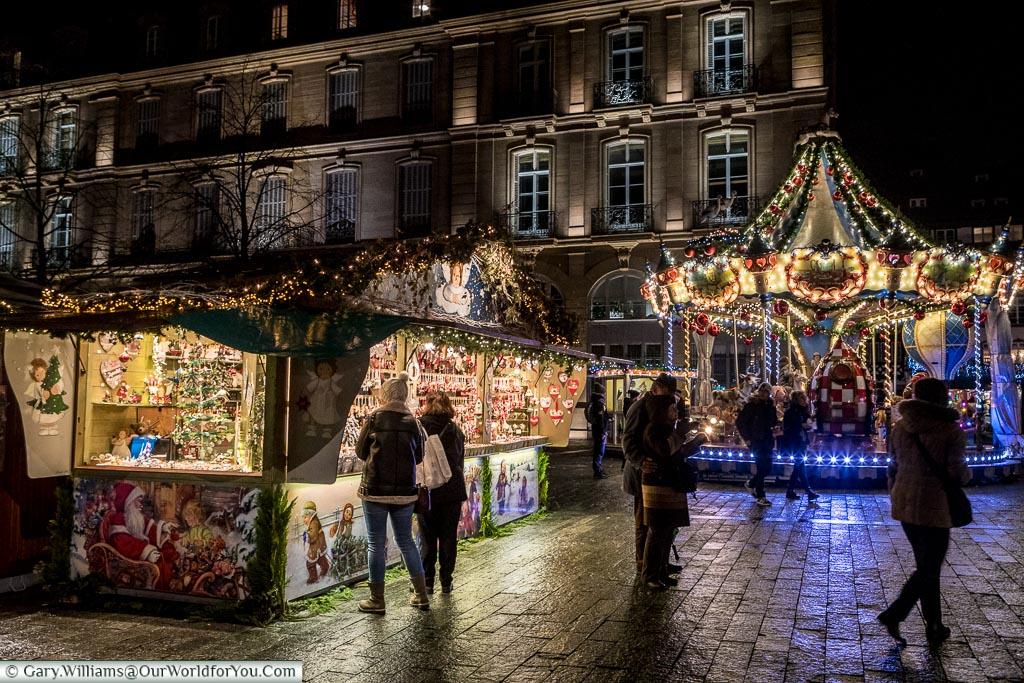 Le Marché de Noël, Christmas, Strasbourg, France