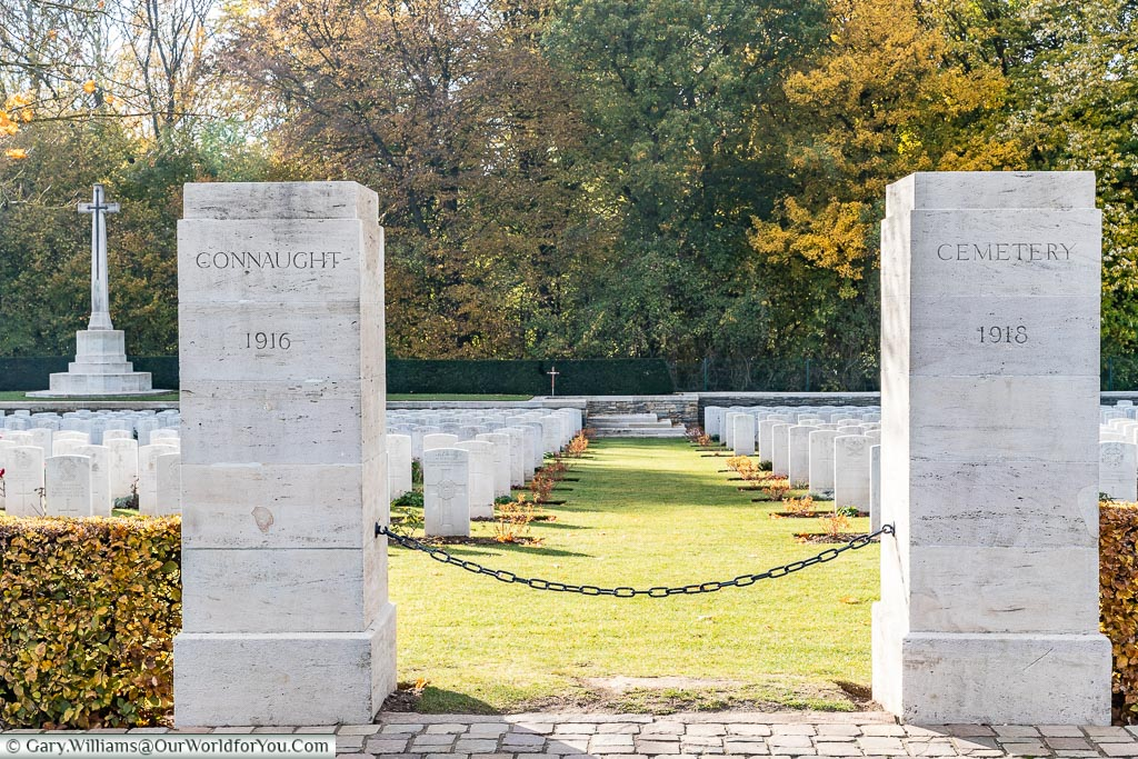 The  Connaught Cemetery, Theipval, Somme, France
