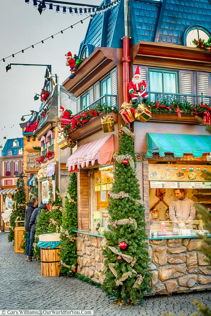 Christmas Village In Germany.Twinkling Dusseldorf At Christmas Our World For You