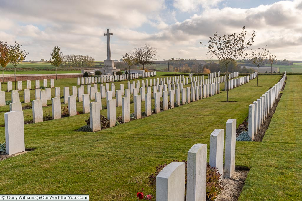 The Warloy-Baillon Communal Cemetery, Somme, France