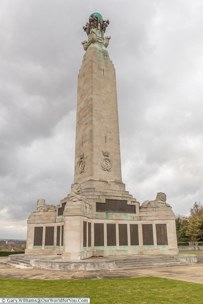 The Chatham War Memorial, Kent, England, UK