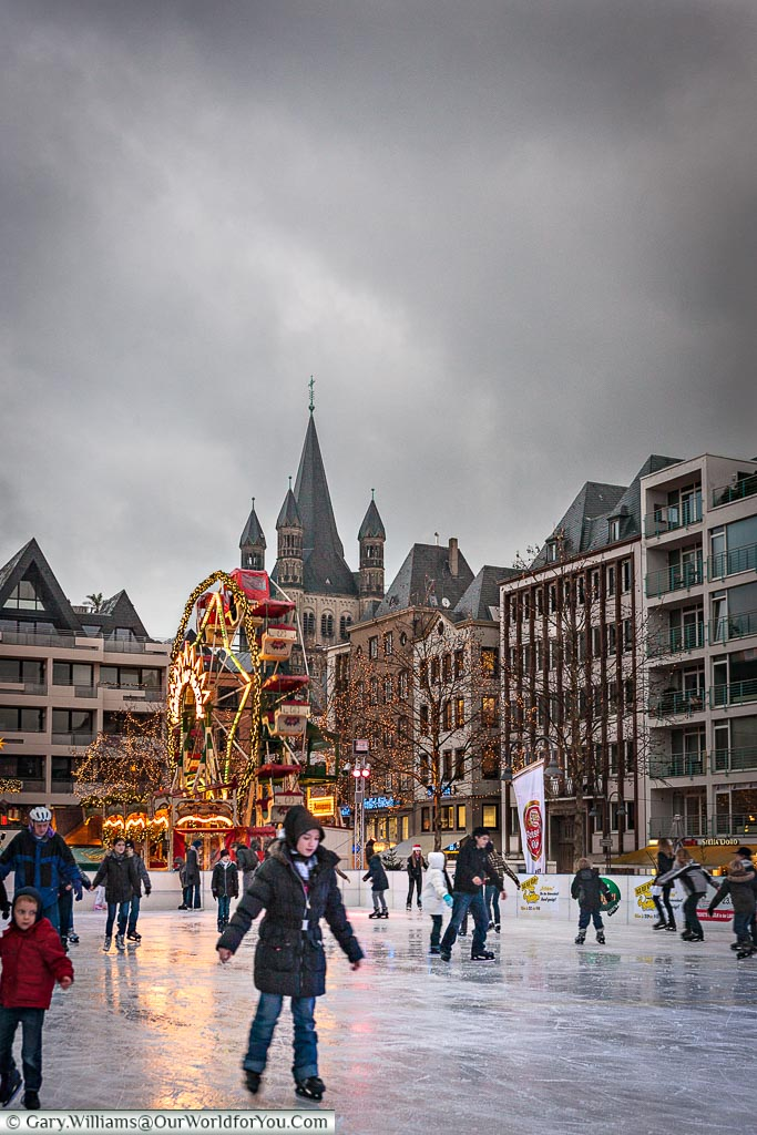 The old ice rink - 2009, Christmas Markets, Cologne, Germany