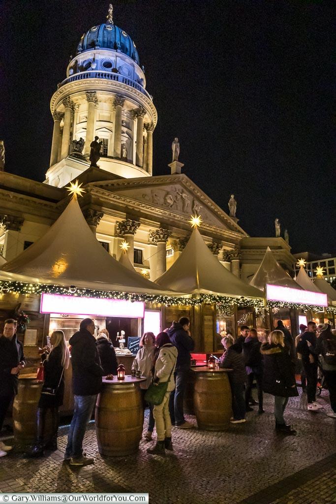 Sampling the delights, Berlin German Christmas Markets