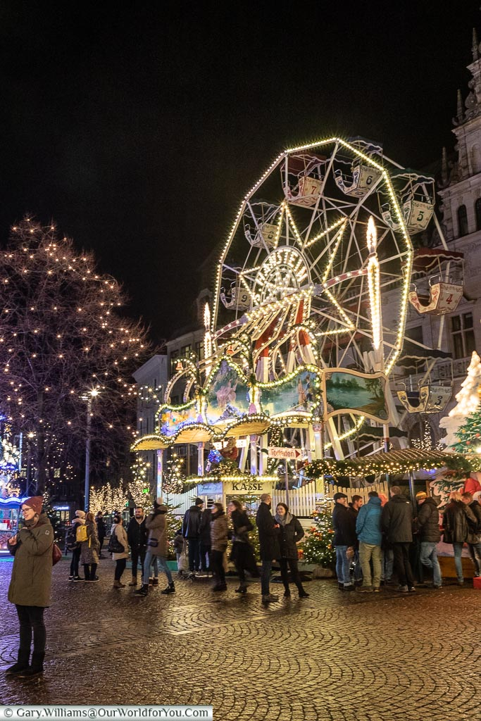 The little Ferris-wheel, Bremen, German Christmas Markets, Germany