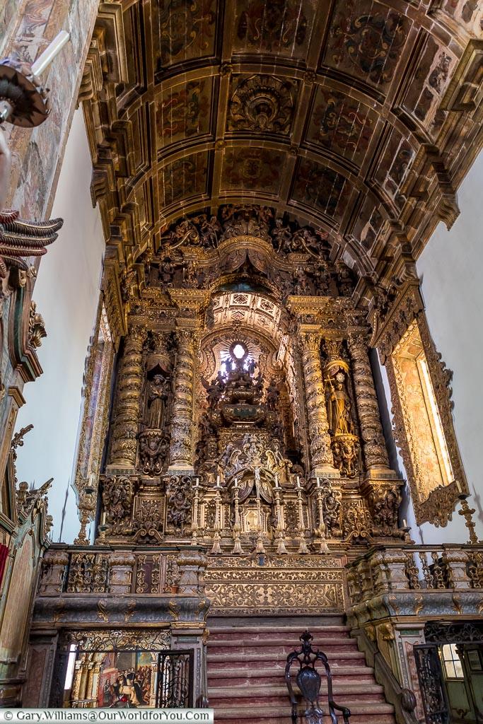 Inside Igreja de São Gonçalo, Amarante, Portugal