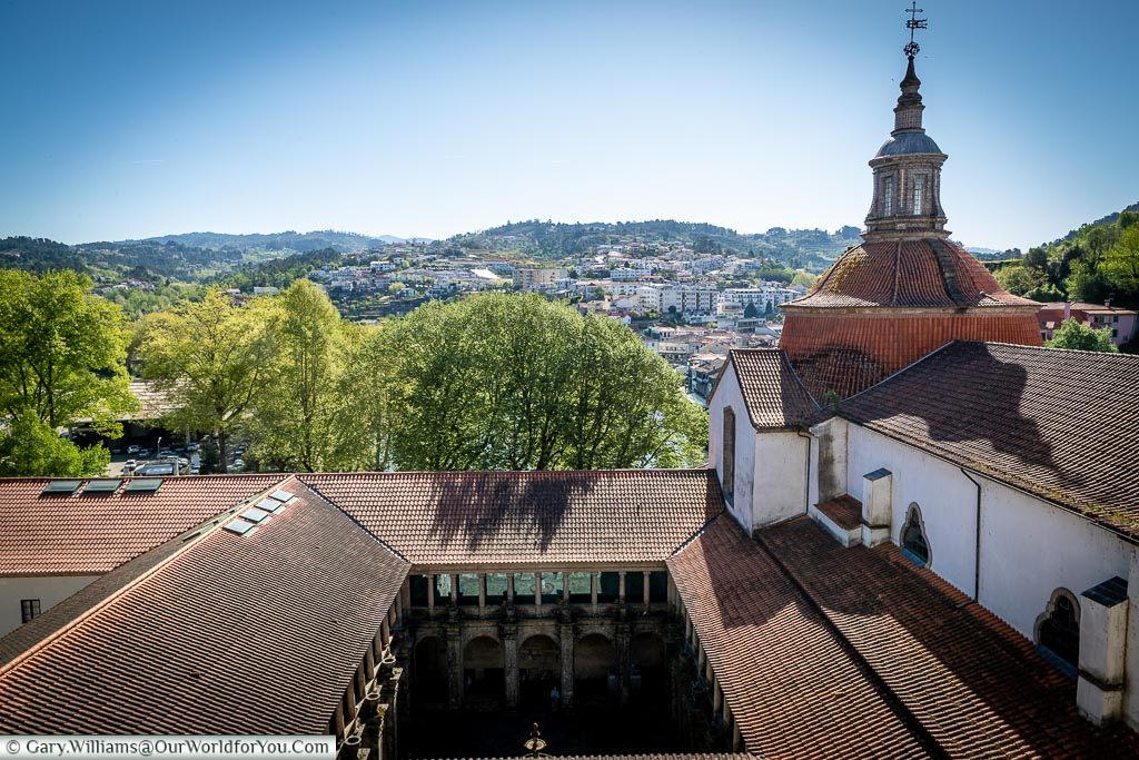 Looking over the rooftops, Amarante, Portugal