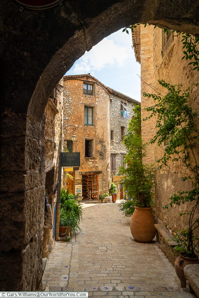 One of the ways in, Tourrettes-sur-Loup, France