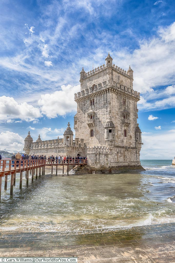 The Torre de Belém, Lisbon, Portugal