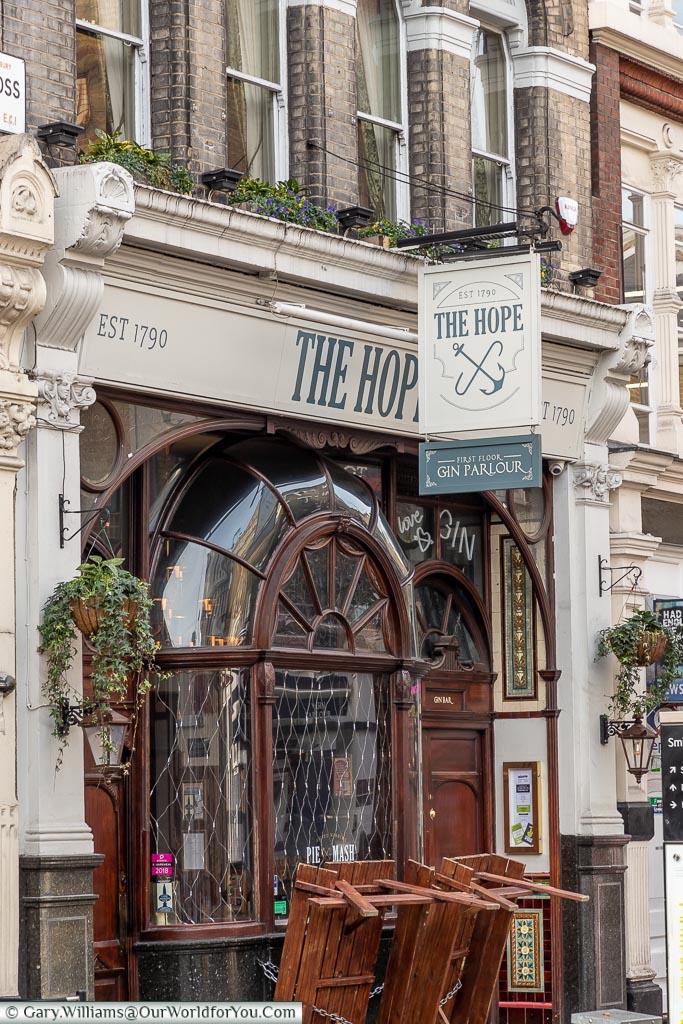 The Hope, Smithfield, London, England, UK