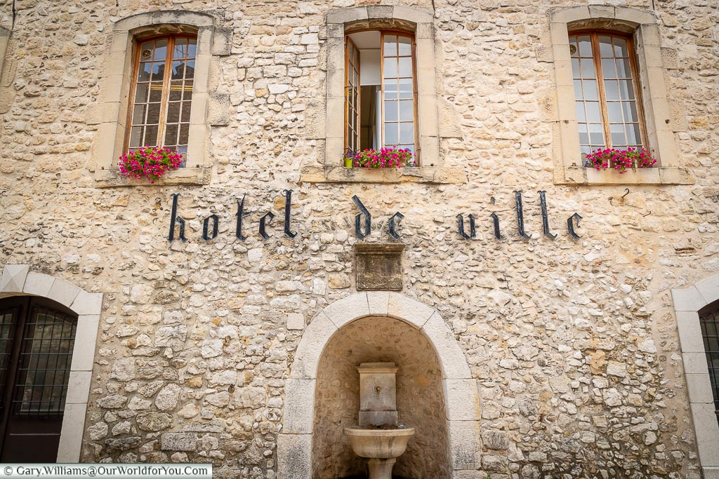The Hotel de Ville, Tourrettes-sur-Loup, France