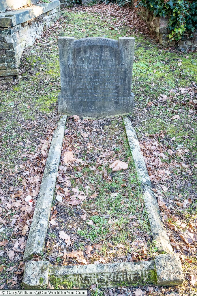 The grave of Mrs Beeton, West Norwood Cemetery, London