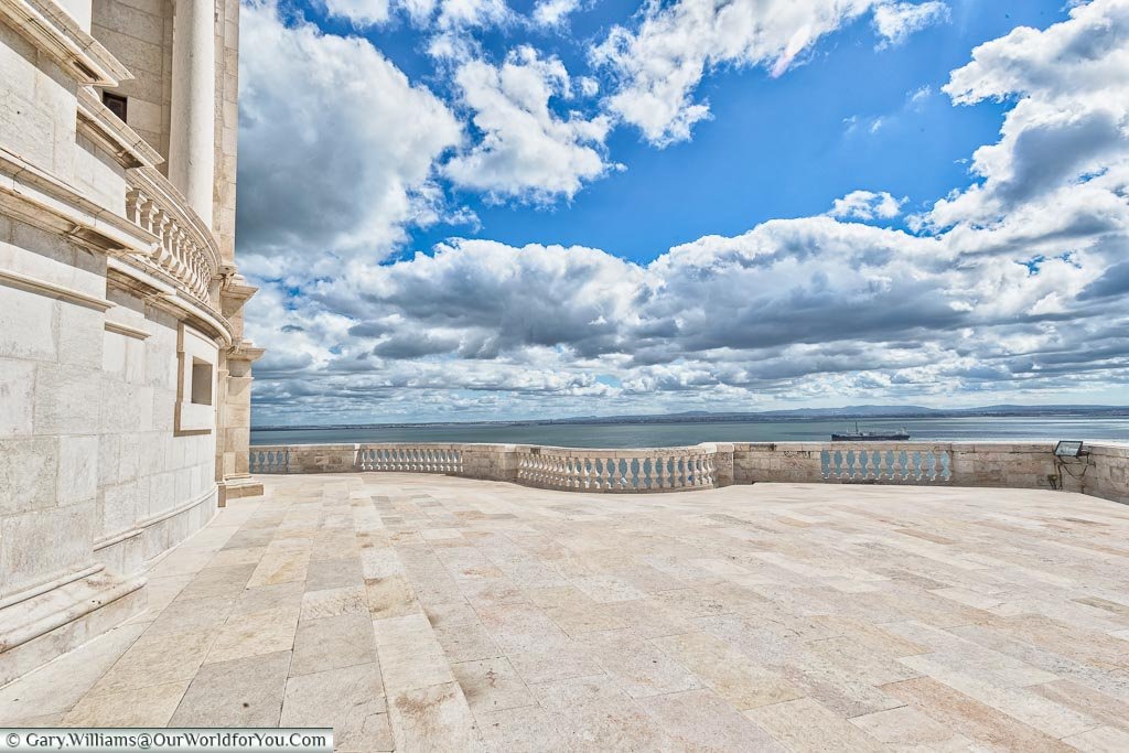 The view from the Pantheon, Lisbon, Portugal