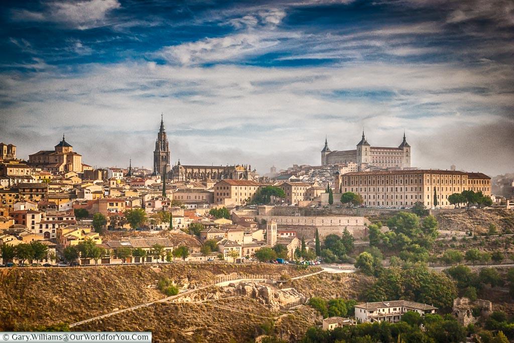 The view of Toledo, Spain