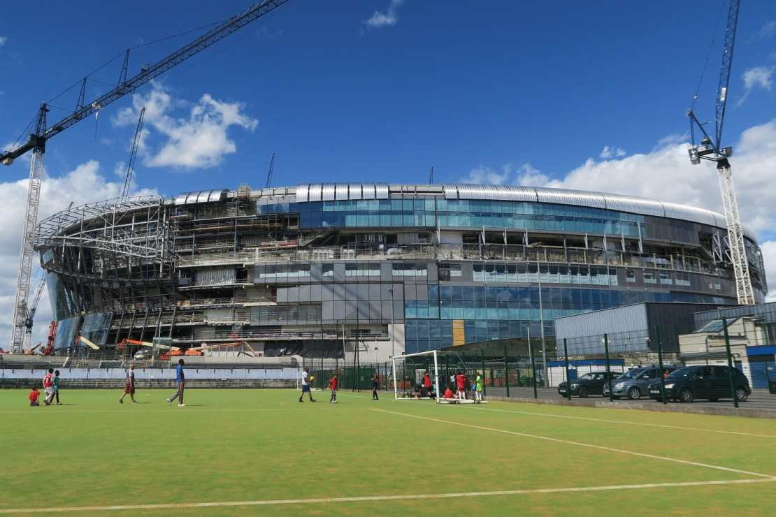 The New Tottenham Stadium