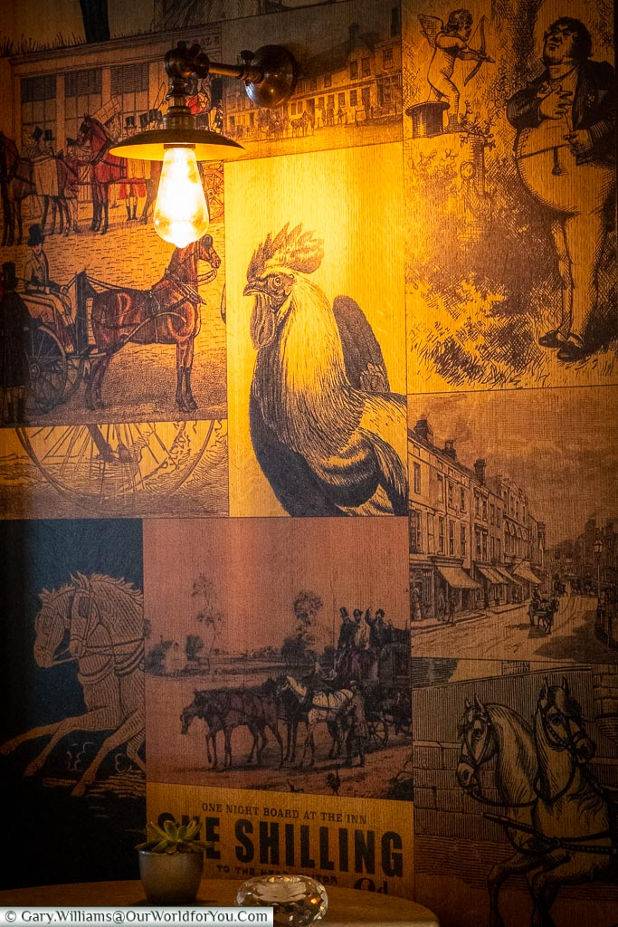 Dickensian charm, The White Horse, bespoke hotels, Dorking, Surrey, England, UK