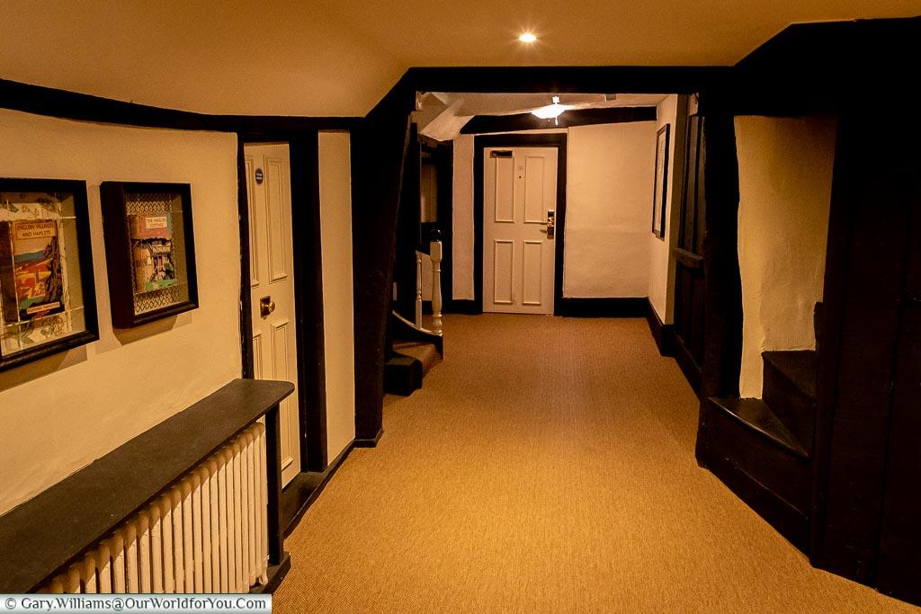 Halls of history, The White Horse, bespoke hotels, Dorking, Surrey, England, UK