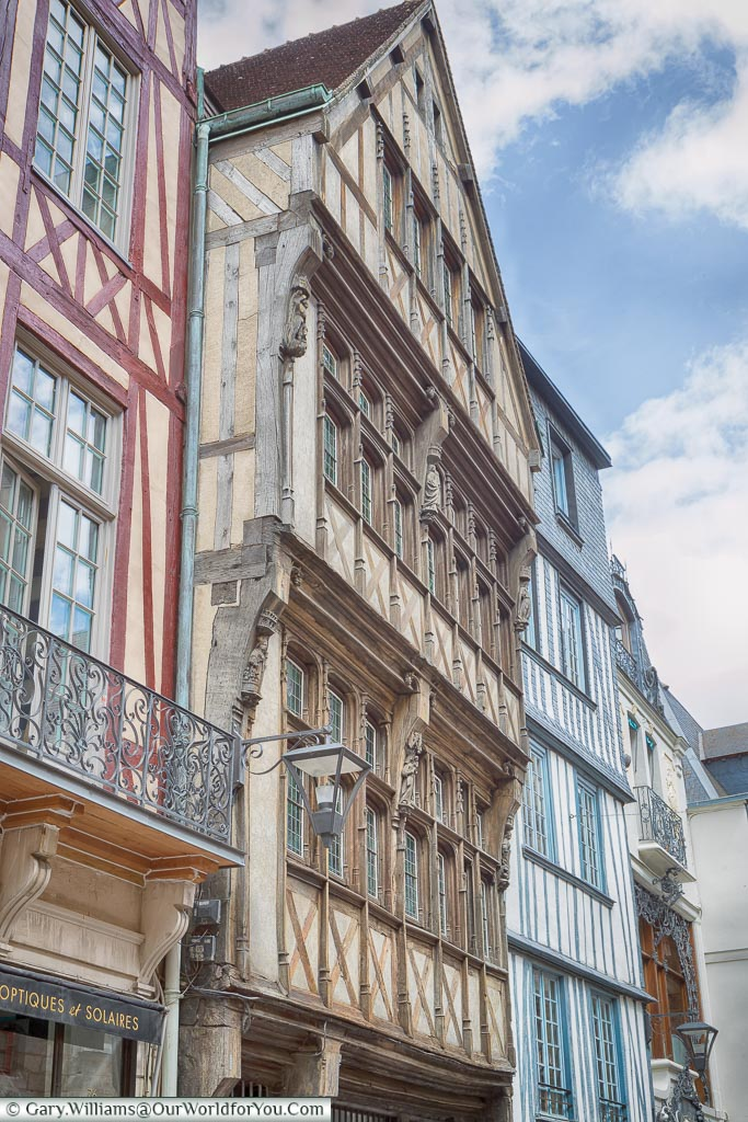 Historical Streets, Rouen, Normandy, France