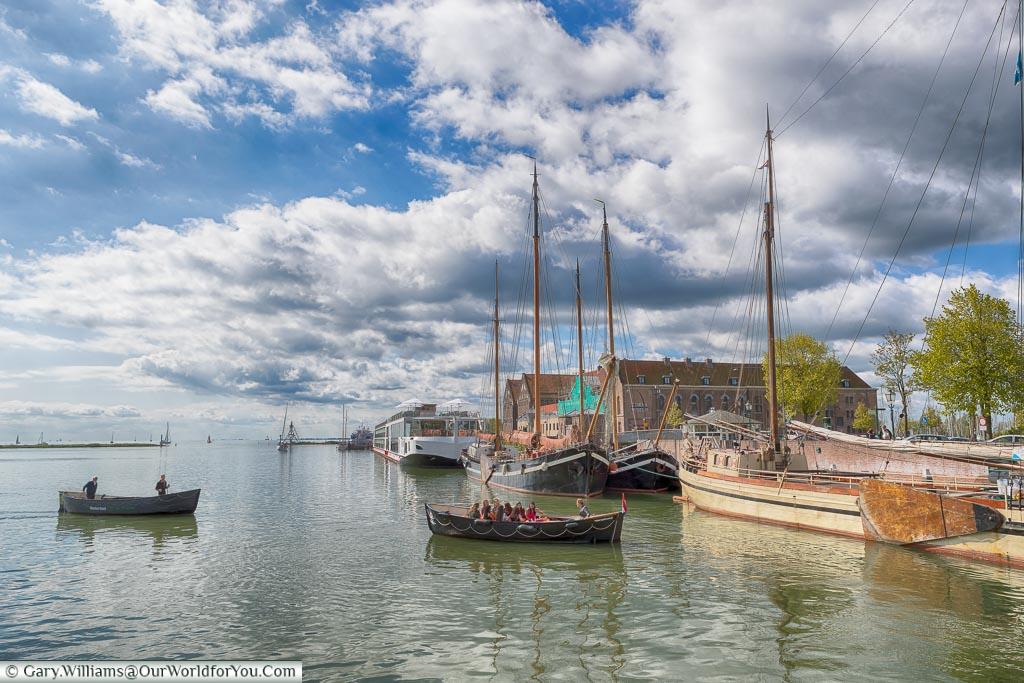 Hoorn harbour, Holland, Netherlands