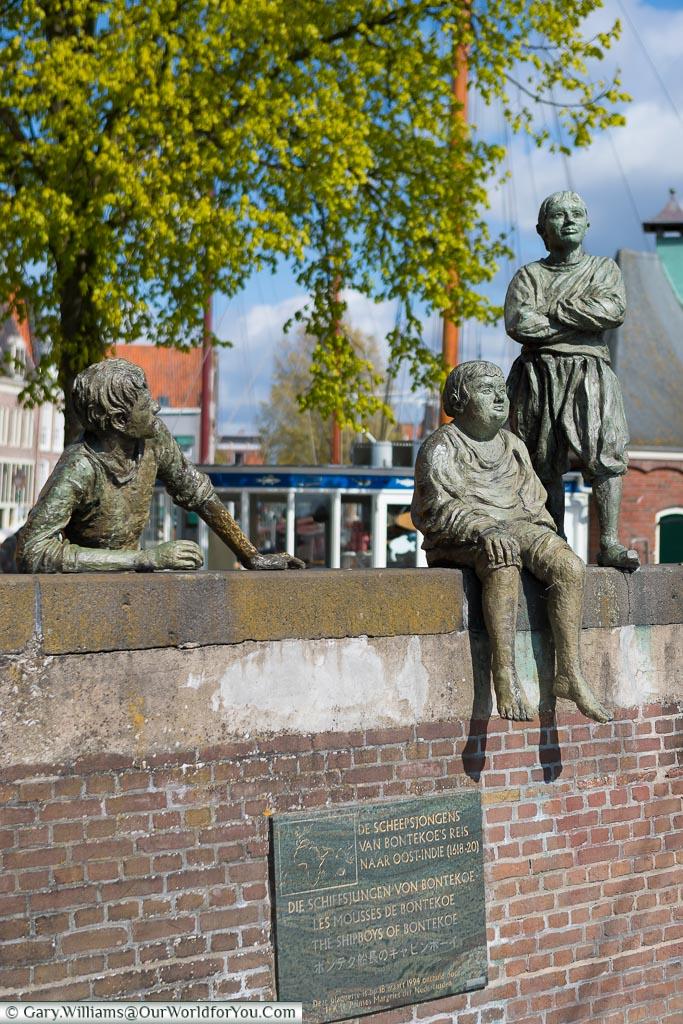 Java Ho - Bontekoes cabin boys, Hoorn, Holland, Netherlands