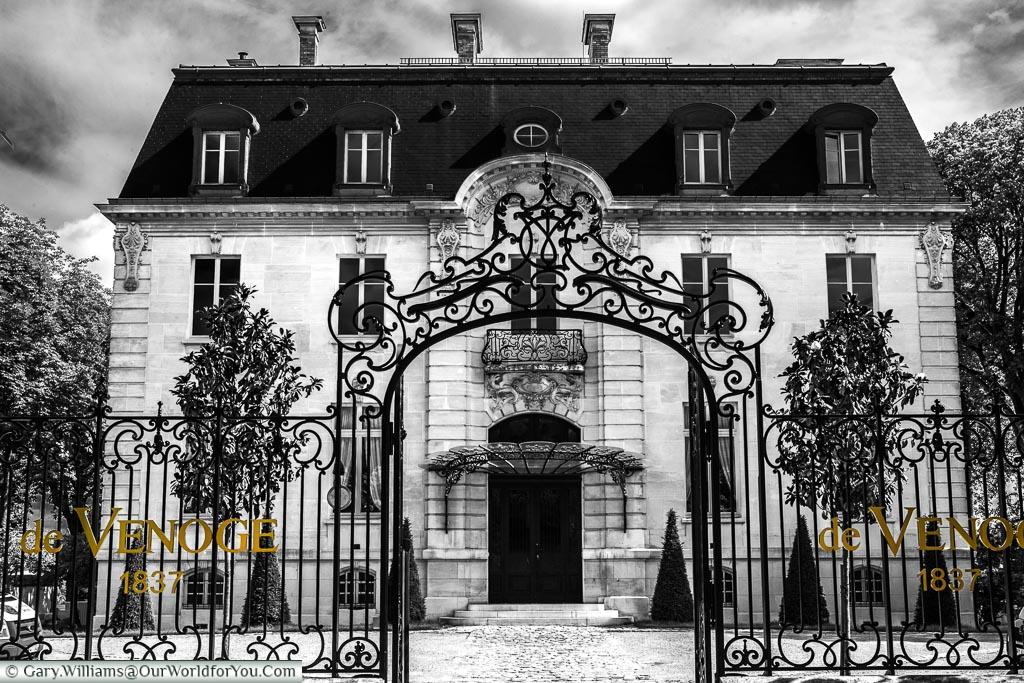 Maison de Venoge of the Rue de Champagne, Epernay, France
