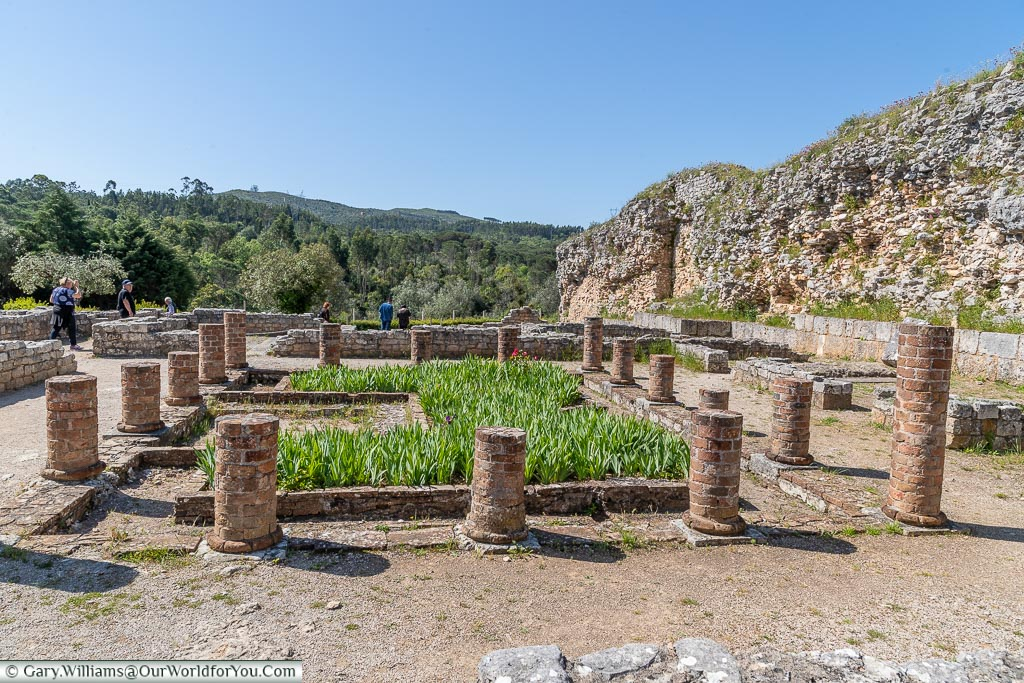 The Roman settlement of Conímbriga, Portugal