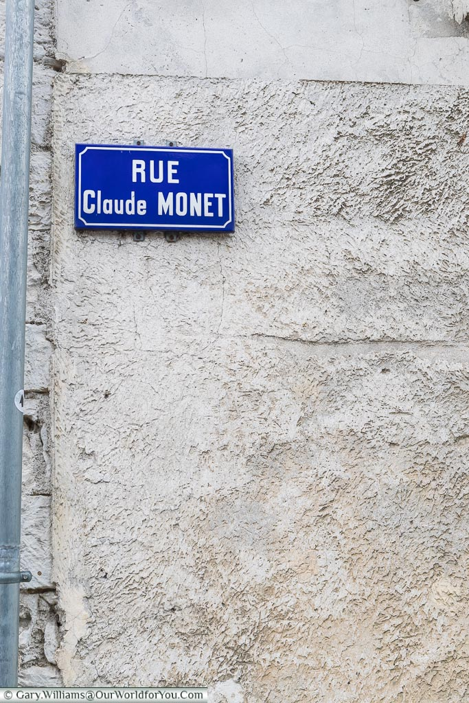 Rue Claude Monet, Giverny, Normandy, France