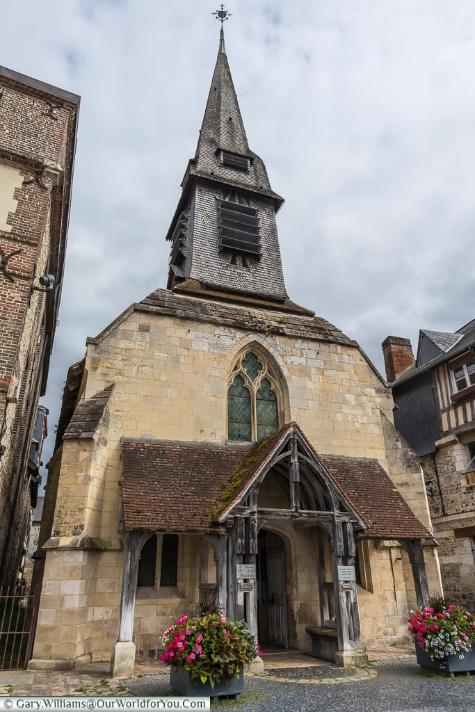 Saint-Étienne church, Honfleur, Normandy, France